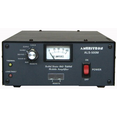 Amplifier AL-500MX for HF amateur radio