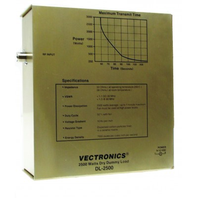 Dummy load Vectronics DL-2500