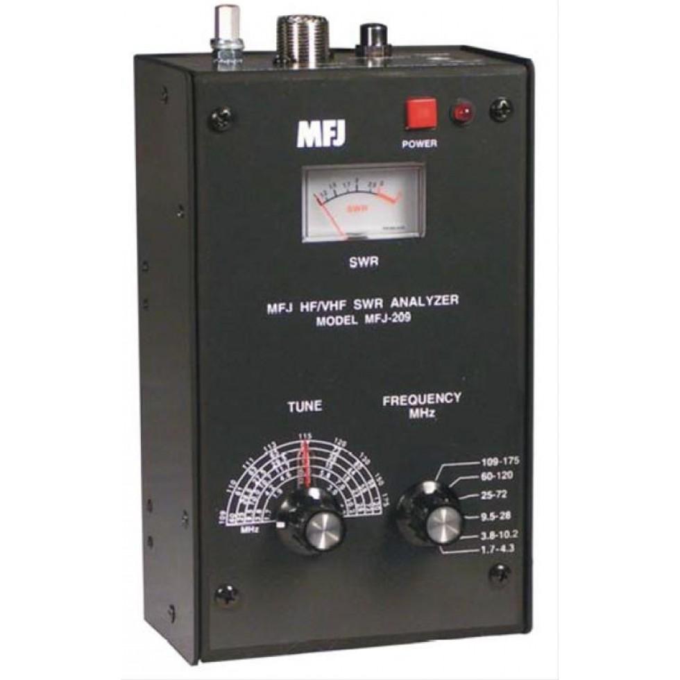 MFJ-209 HF/VHF Antenna analyzer