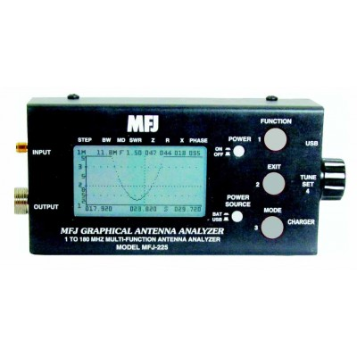 MFJ-225 HF/VHF Analyseur (graphique) d'antenne