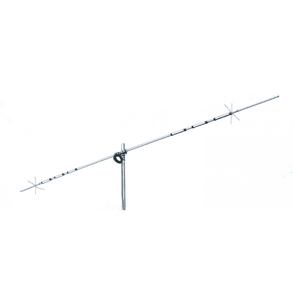Base antenna 1 element Dipole HF 10,15, 20 and 40 meter
