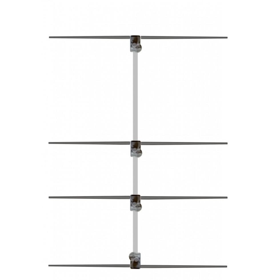 Base antenna 4 elements 6 meter Hy-gain VB-64DX