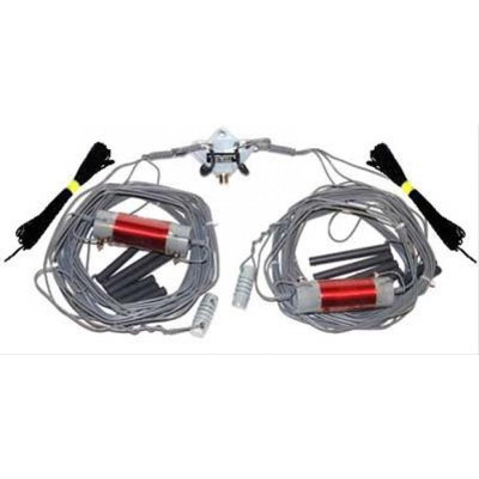 Wire base antenna inverted-V, HF 10,15,20,40,80 meter Alpha