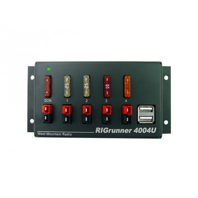 RIGrunner 4004 USB 12V power outlet strip