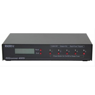 RIGrunner 4005i Monitoring power panel