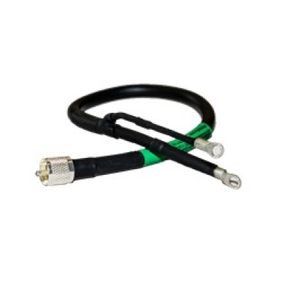 RG8X Antenna feedpoint cable (1.5 FT)