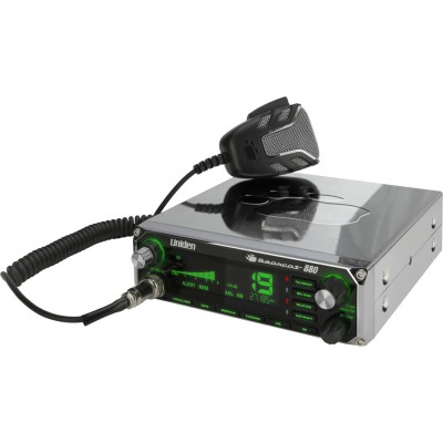 Bearcat 880 chrome Uniden, mobile CB transceiver