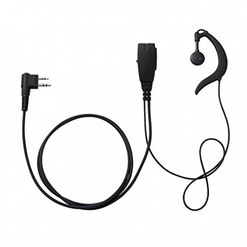 écouteur Microphone Ssm 512b Pour Radio Amateur Yaesu Portatif
