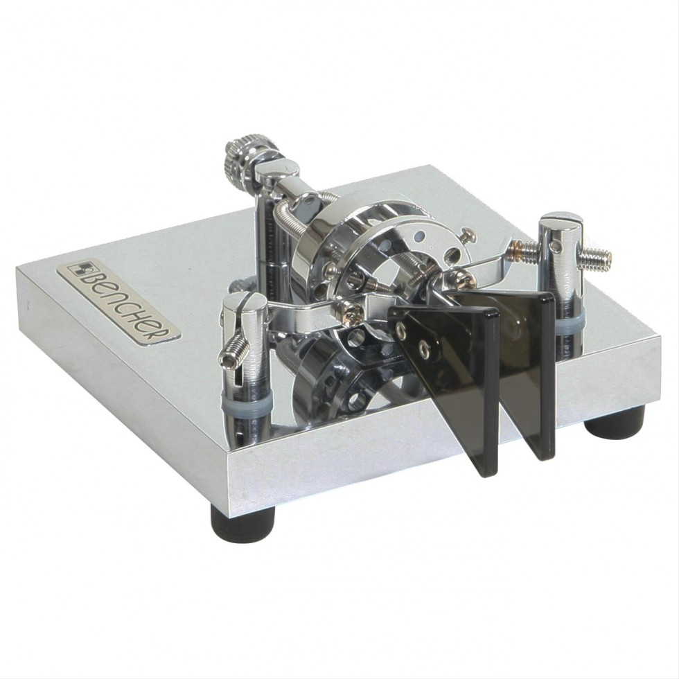 Iambic double paddle handler for morse code Bencher ST-2