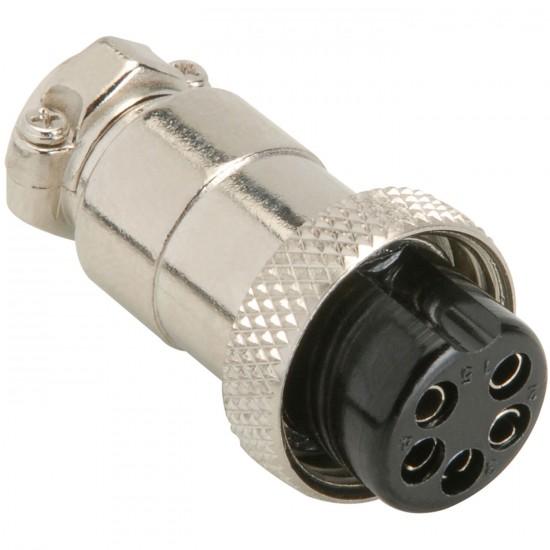 Female microphone (5 pin) plug