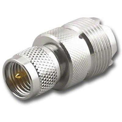 Adaptateur mini UHF mâle vers UHF femelle (SO-239)