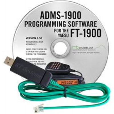 ADMS-1900 Programming Software for the Yaesu FT1900