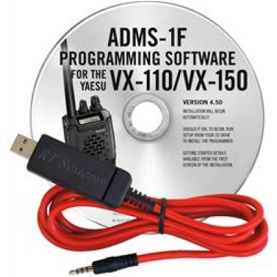 ADMS-1F Programming Software for the Yaesu VX-110 and VX-150