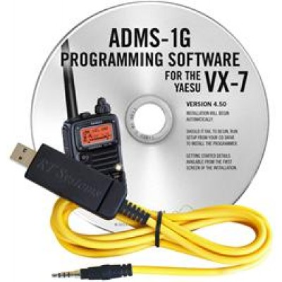 ADMS-1G Programming Software for the Yaesu VX-7R