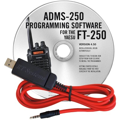ADMS-250 Programming Software for the Yaesu FT-250R
