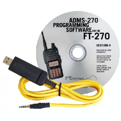 ADMS-270 Programming Software for the Yaesu FT-270R