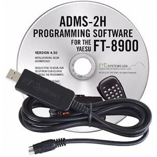 Logiciel de programmation ADMS-2H pour le Yaesu FT-8900