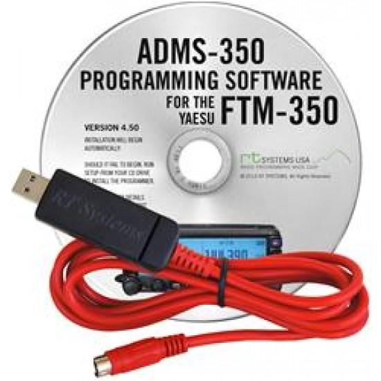 Logiciel de programmation ADMS-350 pour le Yaesu FTM-350