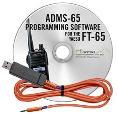Logiciel de programmation ADMS-65 et USB-55 cable pour le Yaesu FT-65