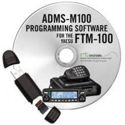 Logiciel de programmation ADMS-M100 pour le Yaesu FTM-100