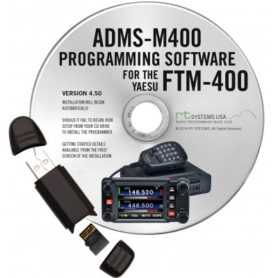 Logiciel de programmation ADMS-M400 pour le Yaesu FTM-400