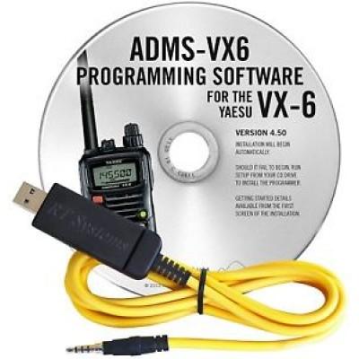 Logiciel de programmation ADMS-VX6R pour le Yaesu VX-6R
