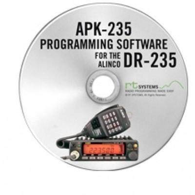 Logiciel de programmation APK-235 pour le Alinco DR-235
