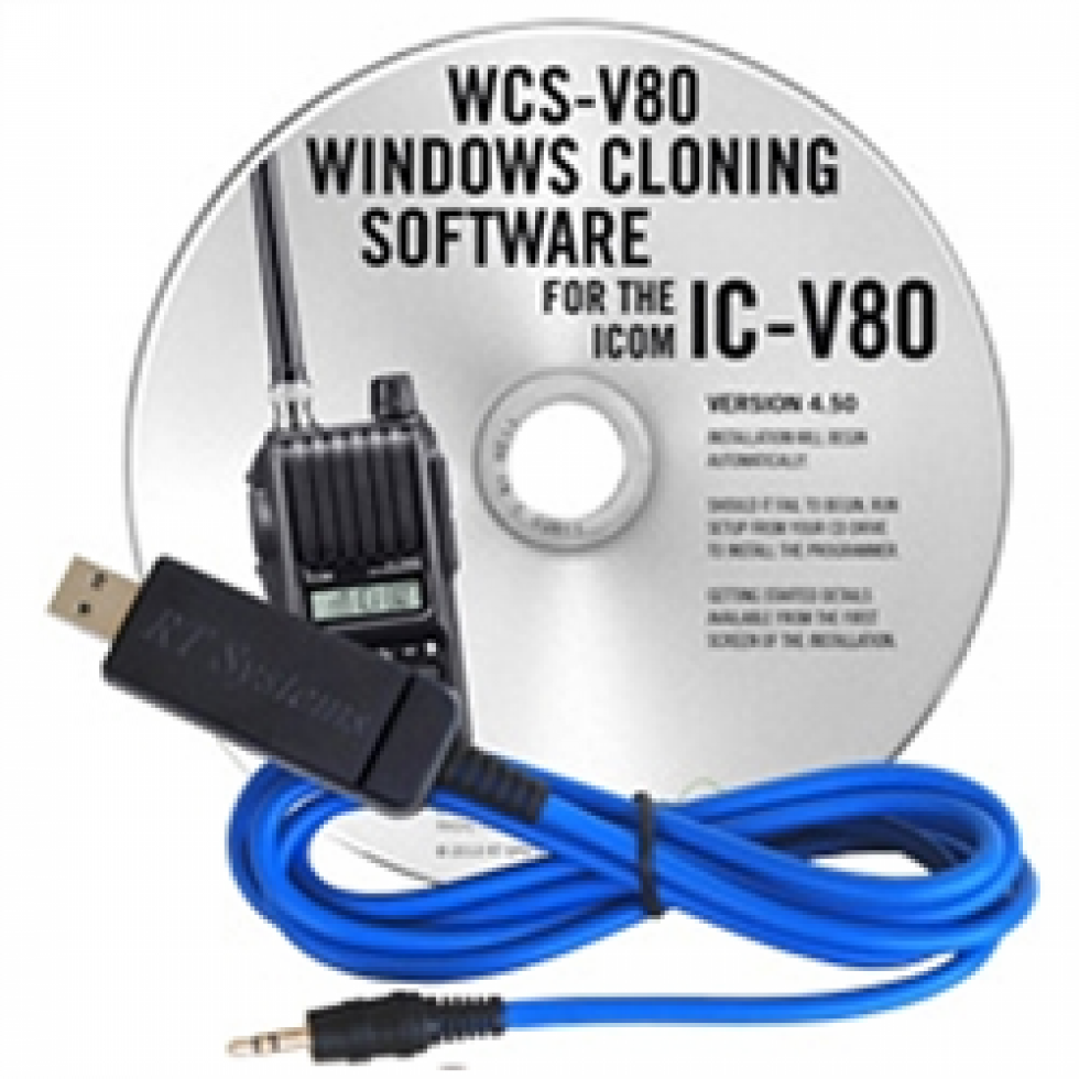 WCS-V80 Programming software for the Icom IC-V80 amateur radio