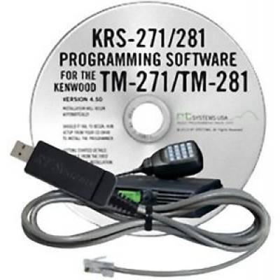 KRS-281 Programming Software for the Kenwood TM-271 & TM-281