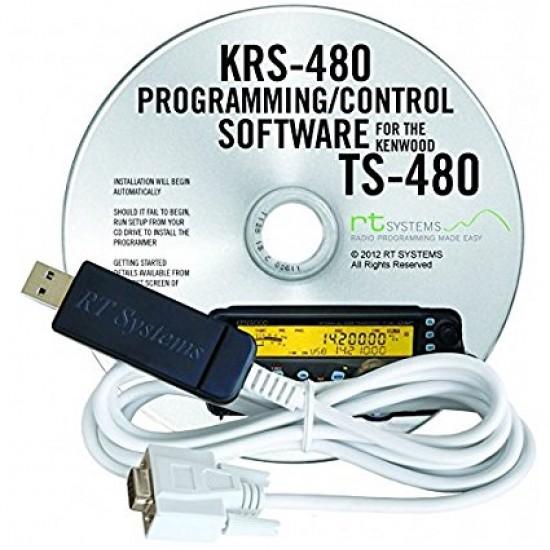 Logiciel de programmation KRS-480 pour le Kenwood TS-480