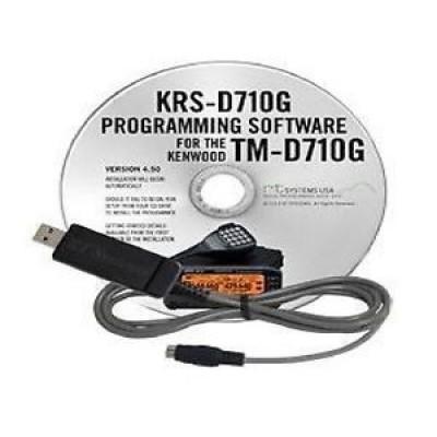 Logiciel de programmation KRS-D710G pour les Kenwood TM-D710 et TM-D710G