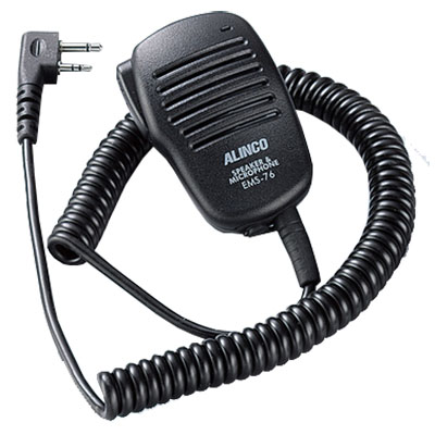 Alinco EMS-76 Speaker microphone for handheld amateur radios