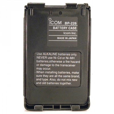 BP-226 Icom, handheld battery case