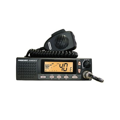 President Johnson II Uniden radio CB mobile 12v / 24v