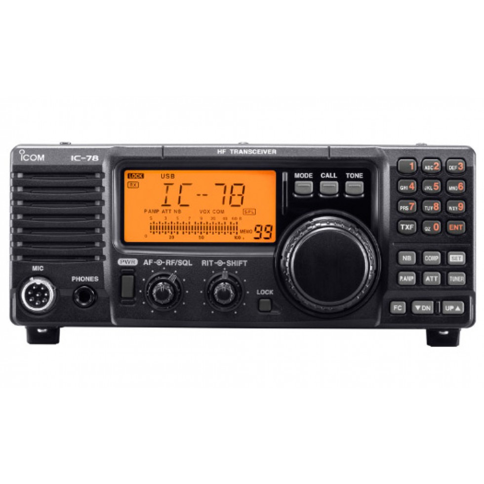 Base ham radio HF Icom IC-78
