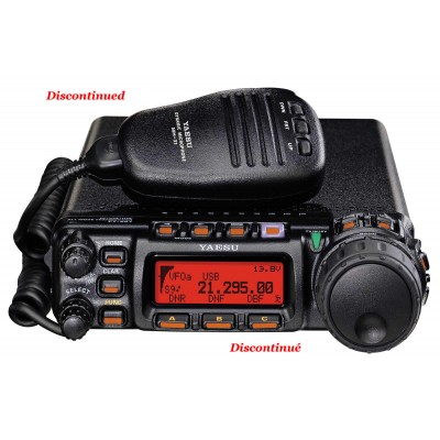 Multi-band mobile transceiver Yaesu FT-857D
