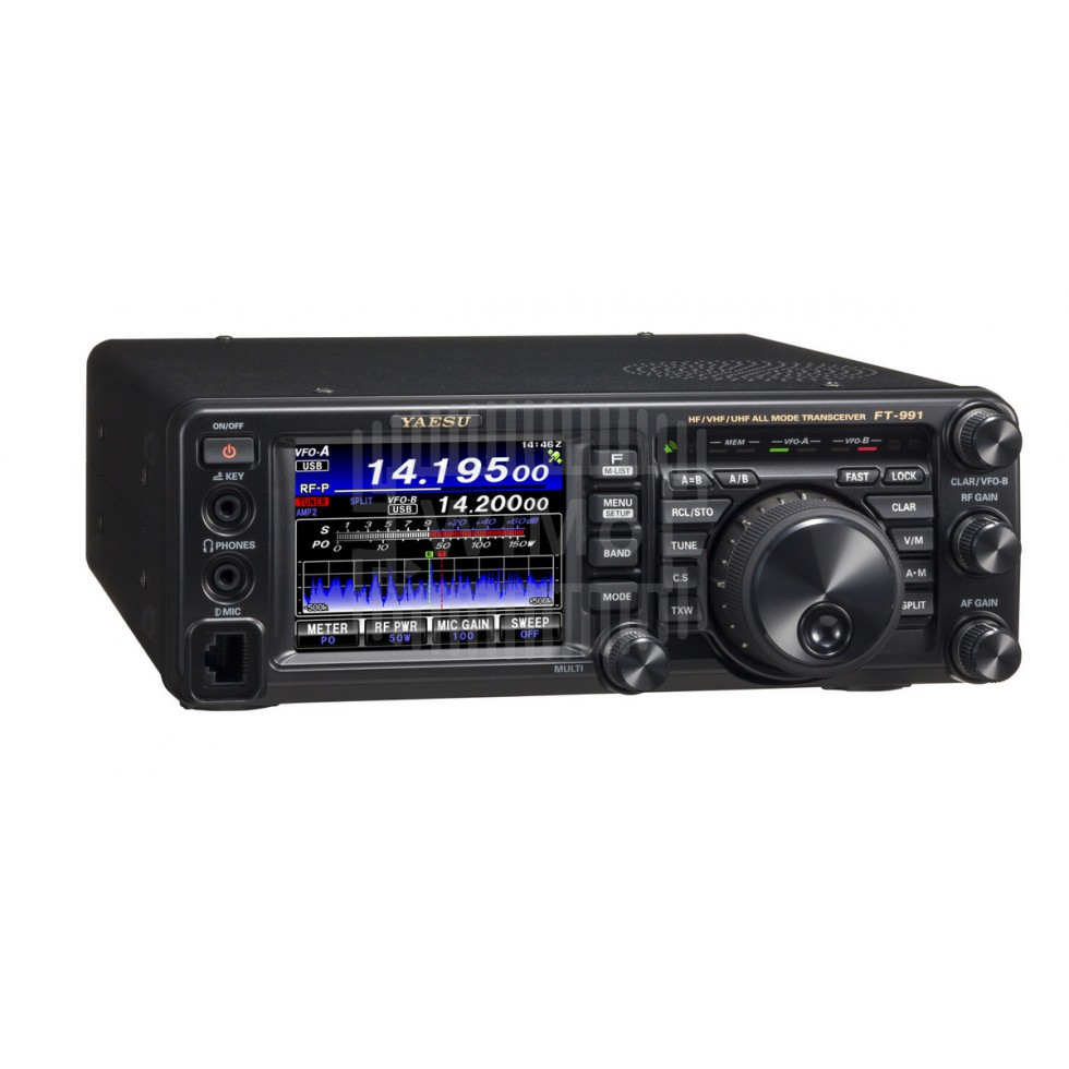 HF Multi-mode ham radio mobile transceiver Yaesu FT-991A
