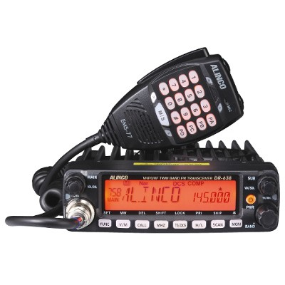 Radio amateur mobile VHF-UHF Alinco DR-638T