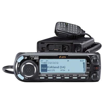 Radio amateur mobile double bande Icom ID-4100A