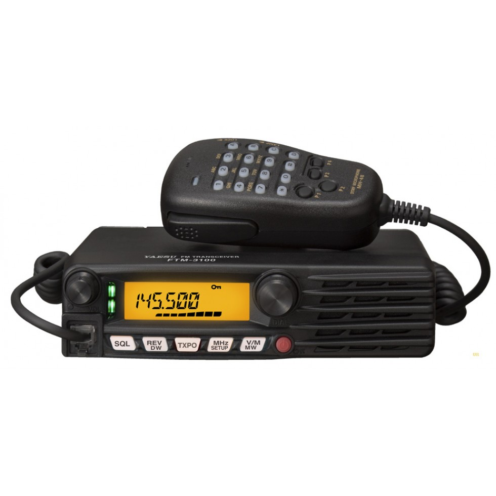 VHF mono band mobile ham radio transceiver Yaesu FTM-3100R