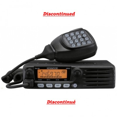 Radio amateur VHF mobile Kenwood TM-281A
