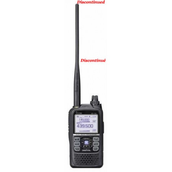 ID-51A PLUS2 Icom, radio portative dual bande D-STAR