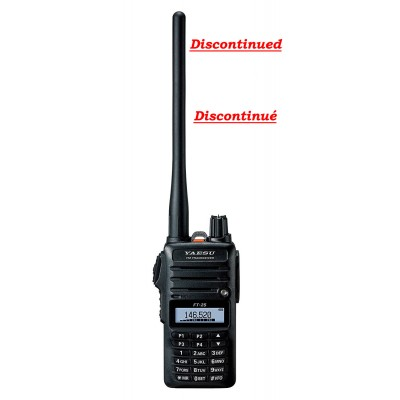 FT-25R Yaesu, portable ham radio single band VHF
