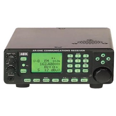 AR-ONE, professional wideband receiver