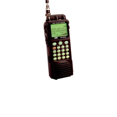 AR8200D, radio scanner portative à large bande
