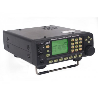 AR8600 Mark II, versatile radio scanner receiver