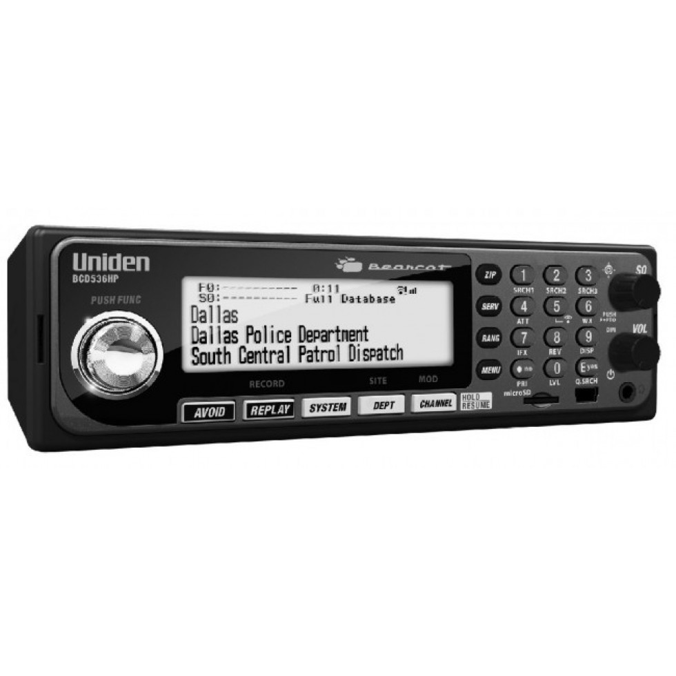 Mobile radio scanner Uniden BCD536HP