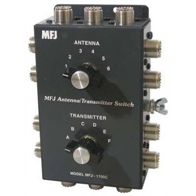 MFJ-1700C Antenna transmitter switch