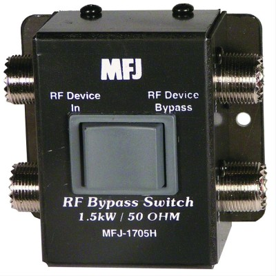 MFJ-1705H Amateur radio RF bypass switch