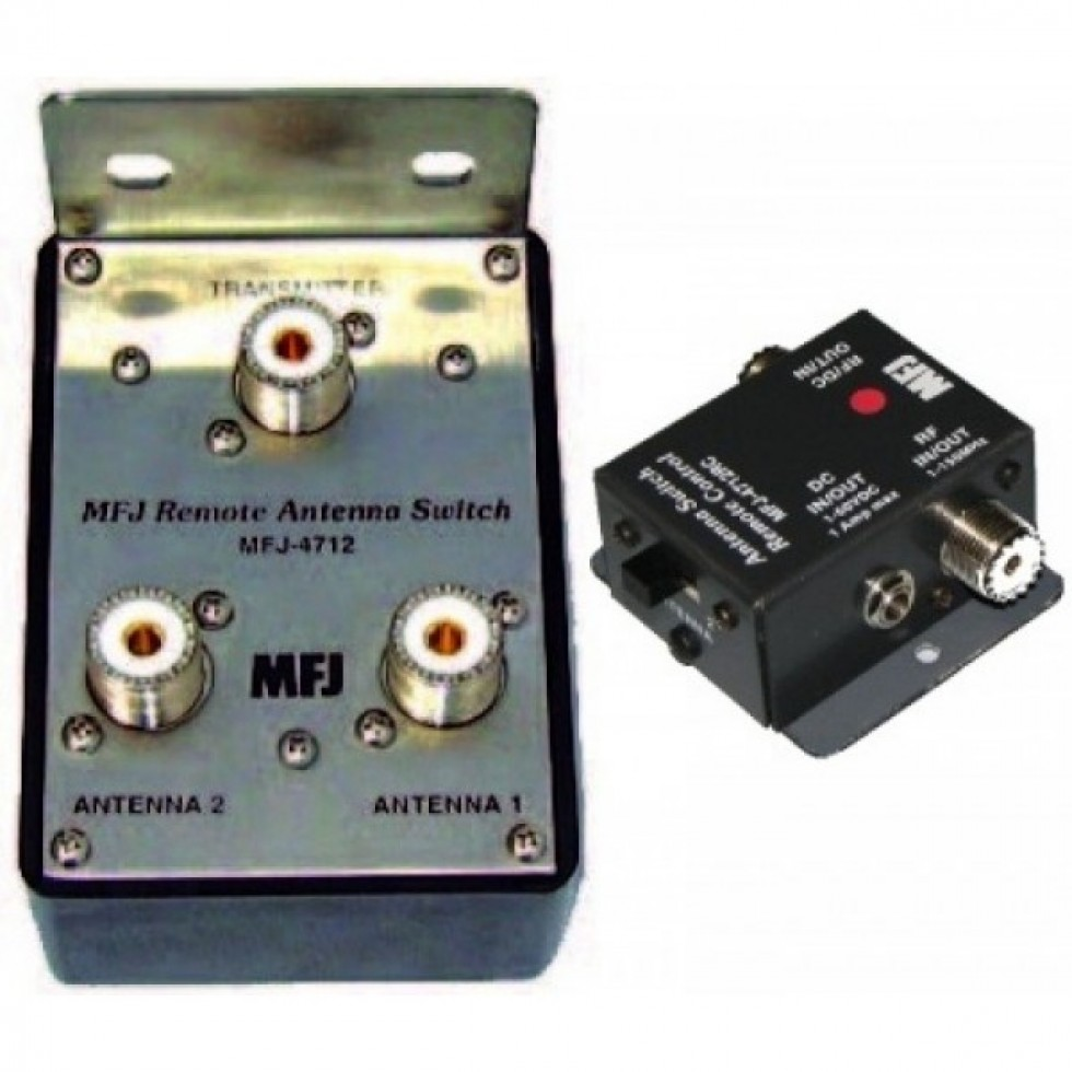 MFJ-4712 Remote two-position antenna switch